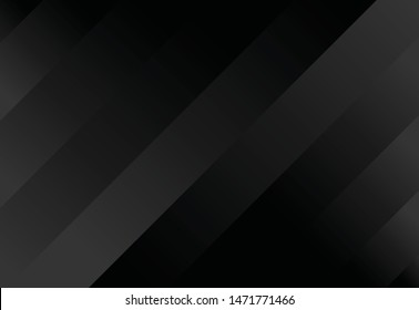 black abstract background with pattern and geometry