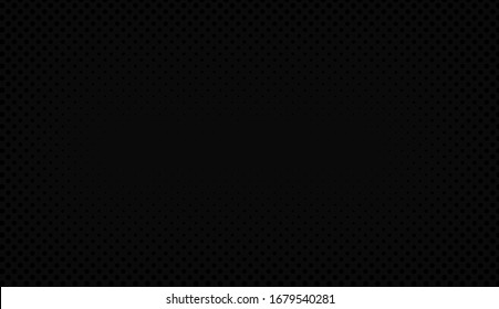 Black abstract background vector image.