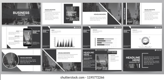 black abstract elements for info graphics on a white background. Presentation templates. Use in presentation, flyer and leaflet, corporate report, marketing, advertising, annual report