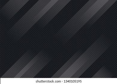 Black abstract geometric background. modern geometric technology. Vector design. EPS 10