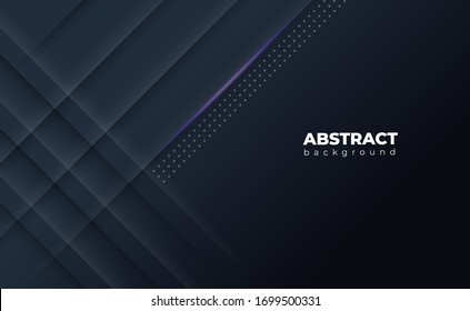 Black abstract geometric background.with shine light.used for website banners, wallpapers, posters, promotion etc.