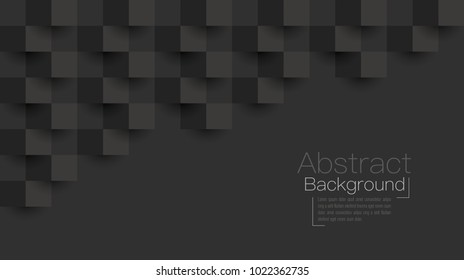 Black abstract texture. Vector background can be used in cover design, book design, poster, cd cover, flyer, website backgrounds or advertising.