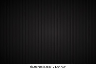 Black abstract vector background with vertical black lines, vector illustration