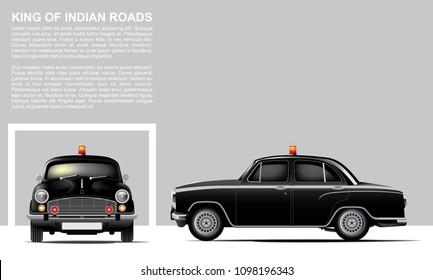 Black Ambassador Patrol Car