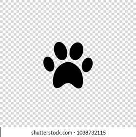 Paw Prints Transparent Images Stock Photos Vectors Shutterstock Including transparent png clip art, cartoon, icon, logo, silhouette, watercolors, outlines, etc. https www shutterstock com image vector black animal pawprint icon isolated on 1038732115