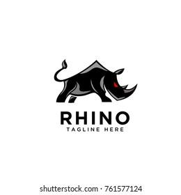 Black Art Rhino Logo