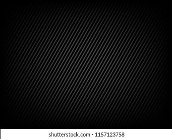 Black background design for banner creative, metallic vector