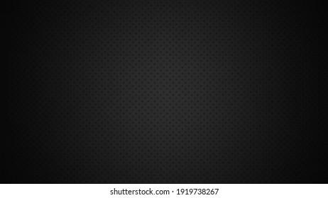 Black background with dot pattern