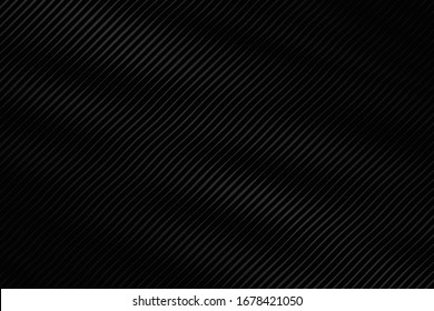 Black background with line wave design. Vector illustration. Eps10