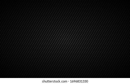 Black background. Black metal texture steel background. Dark carbon fiber texture. Web design template vector illustration EPS 10.