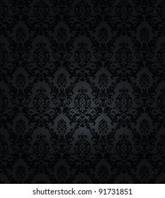 Black background, vector