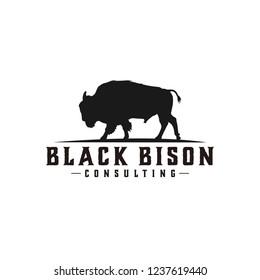 black bison logo