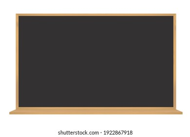 Black board for writing and drawing
