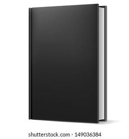 Black book. Illustration on white background for design