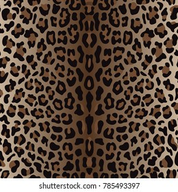 Leopard print images stock photos vectors shutterstock black and brown leopard seamless pattern animal wallpaper on white background for textile prints thecheapjerseys Gallery