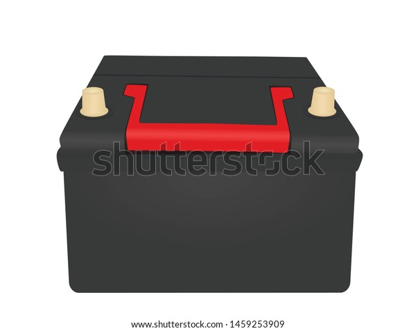 black car battery vector illustration stock vector royalty free 1459253909 shutterstock