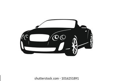Black Bentley Stock Vectors Images Vector Art Shutterstock