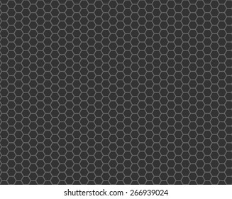 black cell comb seamless pattern, vector illustration