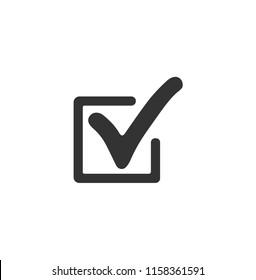 black check icon