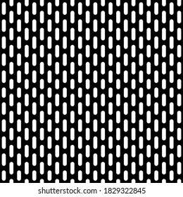Black chrome Steel Grating seamless structure. metal grid isolated on white background. Vector illustration. EPS 10.