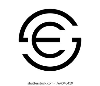 Es Monogram Images Stock Photos Vectors Shutterstock