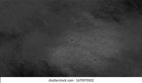 black color paint stain background design, vector.