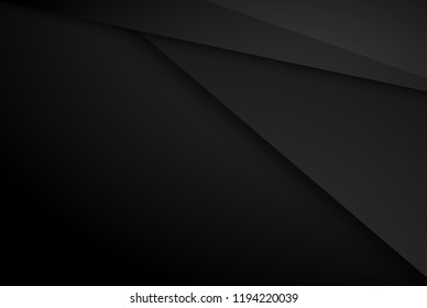 Black contrast tech arrows background. Vector illustration corporate design