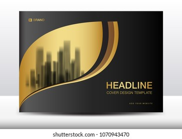 Black cover design template, Billboard, Brochure flyer for cosmetics, Banner design Template vector illustration, display, advertisement layout, poster, card, magazine ads, annual report, backdrop, A4