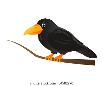 Crow Cartoon High Res Stock Images Shutterstock