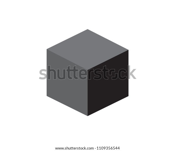 to buy wholesale online separation shoes Black Cube Security Vector Icon Stock Vector (Royalty Free ...