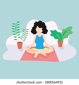 meditation family stock illustrations images vectors shutterstock shutterstock