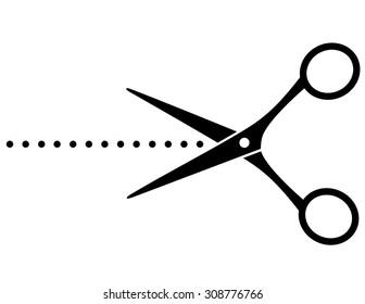 musta Scissor suku puoli