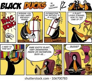 Black Ducks Comic Story episode 74