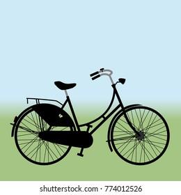 Black dutch bike