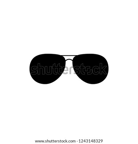 b4a7a773947a Black Fashion Sunglasses Isolated Vector Clipart. Fashion Accessory  Silhouette. Laser Cutting Design. Template