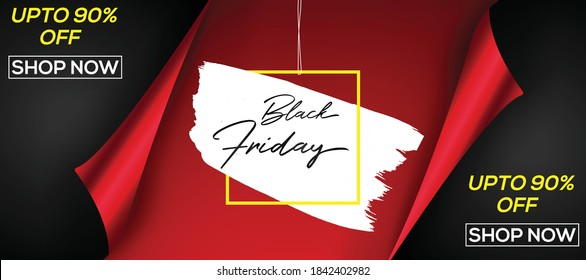 Black Friday or Cyber Monday Professional and Eye catching banner design.