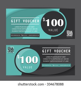 black friday gift voucher certificate coupon template, can be use for business shopping card, customer sale and promotion, layout, banner, web design. vector illustration