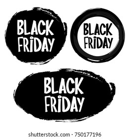 Black friday rubber stamp for you product