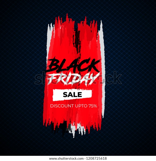 Black Friday Sale Background Banners Online Stock Vector Royalty Free 1208725618
