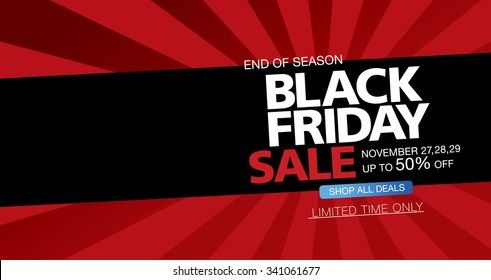 Black friday sale. Banner