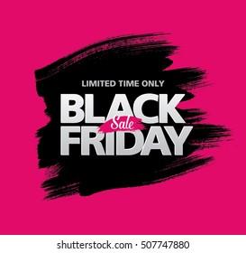 Pancarta de venta del viernes negro