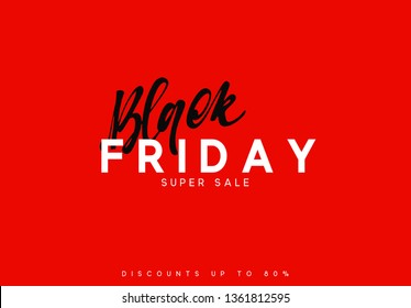 Black Friday sale, banner, poster advert. Card offert promotion design.