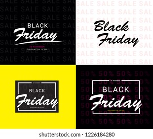 BLACK FRIDAY SALE DESIGN TEMPLATE COLLECTION