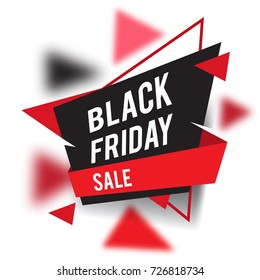 Black Friday sale design template with modern and simple design, place for text, November late Discount Offer. Can used for Design of Advertising, Promotion, Banner, Flyer, Poster.