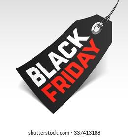 Black Friday Sale price tag