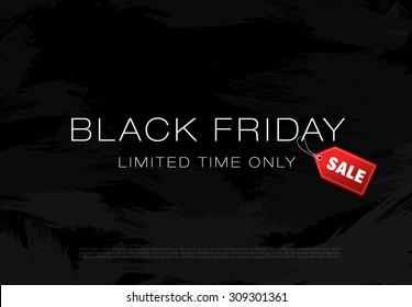 Black friday sale. Rectangular banner