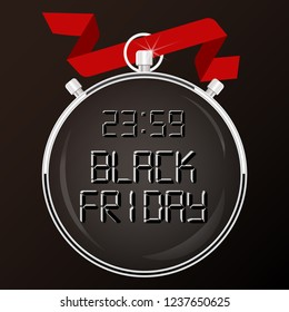 Black Friday special offer stopwatch
