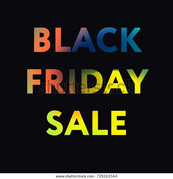 Black Friday Super Sale Concept Advertisement Stock Vector Royalty Free 728263564