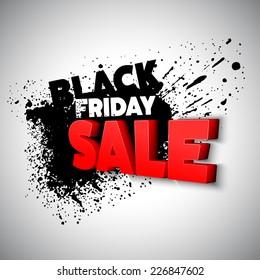 Black Friday. Vector illustration