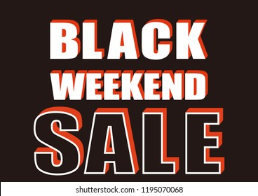 Black Friday's advertisement. Promotion of Black Friday. Black Friday sign design. Banner design for sale. weekly Sale logo design.